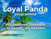 Spaar Loyal Panda punten in het Royal Panda casino